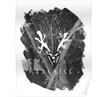 Roaming (Brushed) Poster