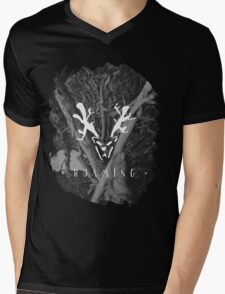 Roaming (Brushed) Mens V-Neck T-Shirt