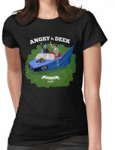 Angry & Deek - Bound For Glory Womens Fitted T-Shirt