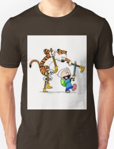 adventure time calvin hobbes Unisex T-Shirt