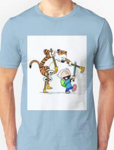 adventure time calvin hobbes T-Shirt