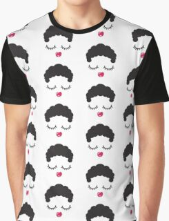 Cute Face Graphic T-Shirt