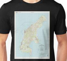 USGS TOPO Map Northern Mariana Islands MP Island Of Saipan 363626 1999 25000 Unisex T-Shirt