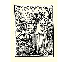 Totentanz, Dance of macabre (Holbein) Photographic Print