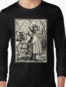 Totentanz, Dance of macabre (Holbein) Long Sleeve T-Shirt