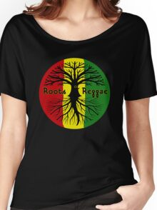 ROOTS REGGAE Women's Relaxed Fit T-Shirt