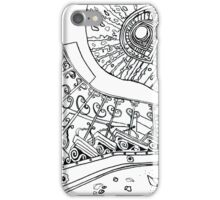 Spiral Decay Illustration iPhone Case/Skin