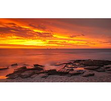 Red Rocks Sunset Photographic Print