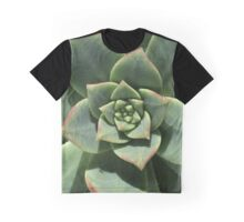 Greens Of Hens And Chicks Graphic T-Shirt