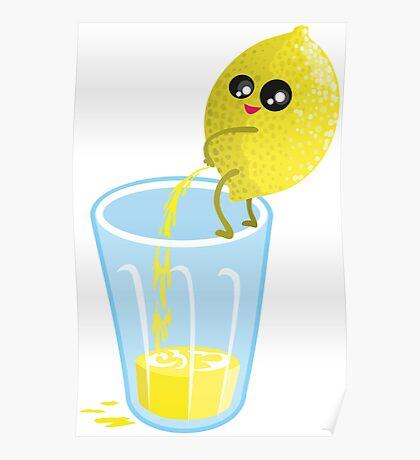 Lemonade Lemon Pee Poster
