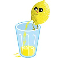 Lemonade Lemon Pee Photographic Print