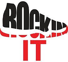 Rockin It Photographic Print