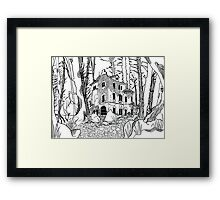 Forgotten Manor Framed Print
