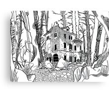 Forgotten Manor Canvas Print