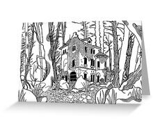 Forgotten Manor Greeting Card