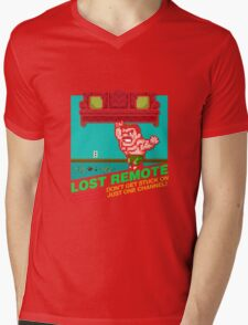 Lost Remote (NES My Life) Mens V-Neck T-Shirt