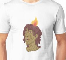melted head Unisex T-Shirt
