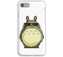 Artsy 8-bit Totoro is cool iPhone Case/Skin