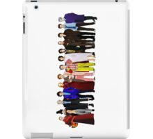 Doctor Who - Regenerated Lineup iPad Case/Skin