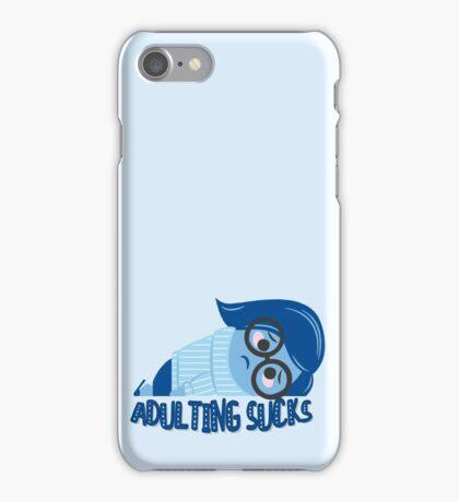 Adulting sucks iPhone Case/Skin