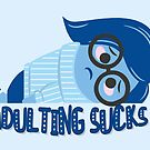 Adulting sucks by oneskillwonder