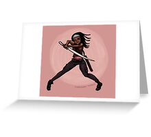 Michonne! Greeting Card