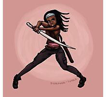 Michonne! Photographic Print