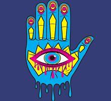 Hand in Eye Hamsa Pop Art Unisex T-Shirt