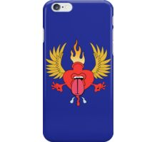 Flaming Heart iPhone Case/Skin