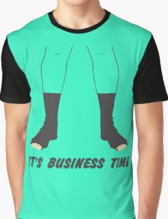 Flight of the Conchords Business Time Graphic T-Shirt