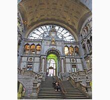 Interior of foyer, Antwerp Railway Station Unisex T-Shirt