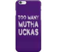 Flight of the Conchords Mutha Uckas iPhone Case/Skin