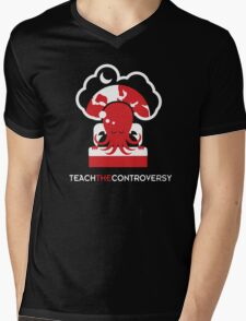 Cthulhu Dreaming (Teach the Controversy) Mens V-Neck T-Shirt