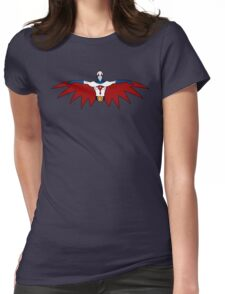 """Ken, the Eagle """"Gatchman"""" Womens Fitted T-Shirt"""