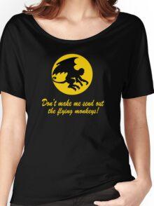 Flying Monkeys Women's Relaxed Fit T-Shirt
