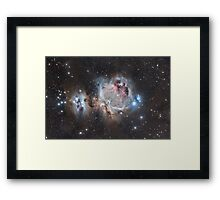 The Great Nebula in Orion Framed Print