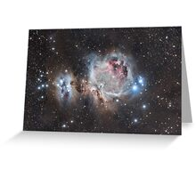 The Great Nebula in Orion Greeting Card