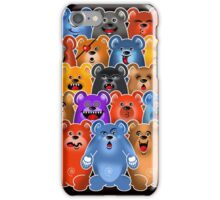 BEAR CROWD 3 iPhone Case/Skin