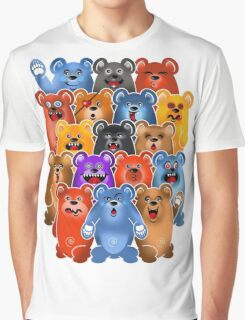 BEAR CROWD 3 Graphic T-Shirt