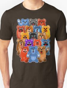 BEAR CROWD 3 Unisex T-Shirt