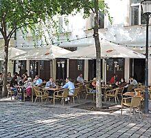 Slang Pub, Bratislava, Slovakia by Margaret  Hyde