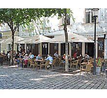 Slang Pub, Bratislava, Slovakia Photographic Print