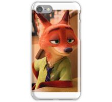 Nick Wilde iPhone Case/Skin