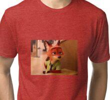 Nick Wilde Tri-blend T-Shirt