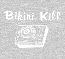 Bikini Kill (on black) One Piece - Short Sleeve