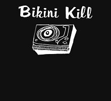 Bikini Kill (on black) Womens Fitted T-Shirt