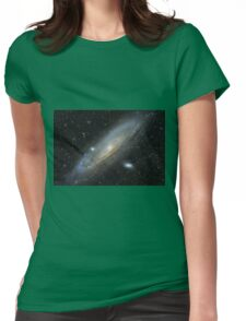 The Andromeda Galaxy Womens Fitted T-Shirt