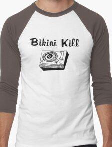 Bikini Kill (on white) Men's Baseball ¾ T-Shirt