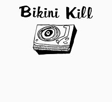 Bikini Kill (on white) Womens Fitted T-Shirt