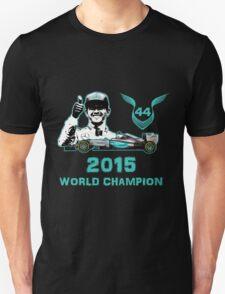 Lewis Hamilton, 2015 Formula 1 F1 drivers World Champion Unisex T-Shirt